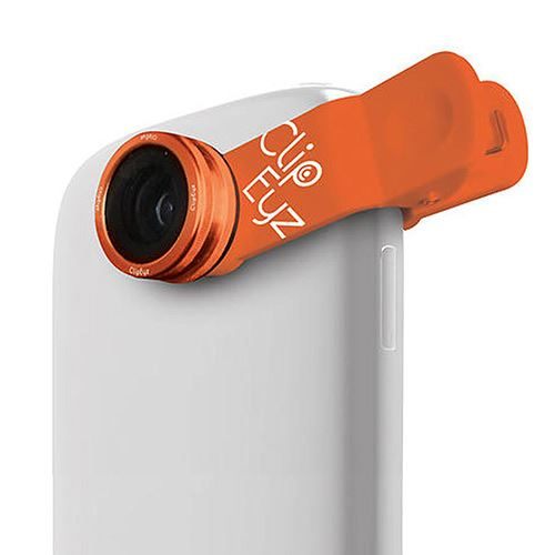 Lentille Fish Eye CLIPEYZ Smartphones & Tablettes Orange