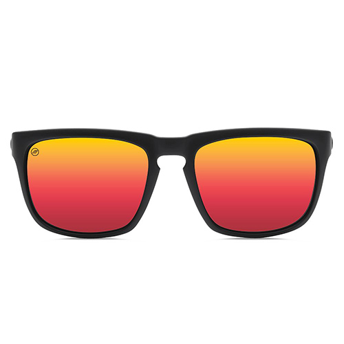 Lunettes ELECTRIC Knoxville Matte Black OHM Grey Fire Chrome - Surf ... af862396c066