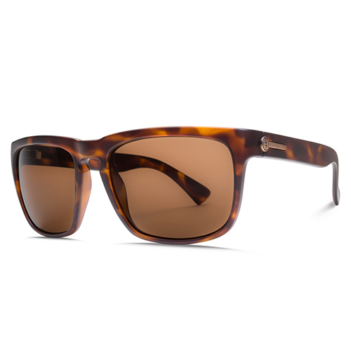 Lunettes ELECTRIC Knoxville Matte Tortoise OHM Bronze