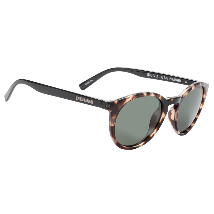 Lunettes MUNDAKA Endless Milky brown tort & black
