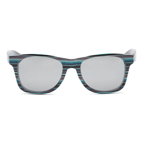Lunettes VANS Spicoli 4 Shades Black Rockaway Stripe Chrome
