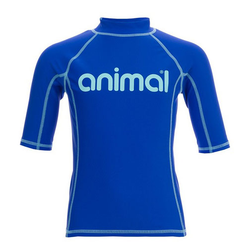 Lycra Enfant ANIMAL Molli Rash Vest Cornflower Blue