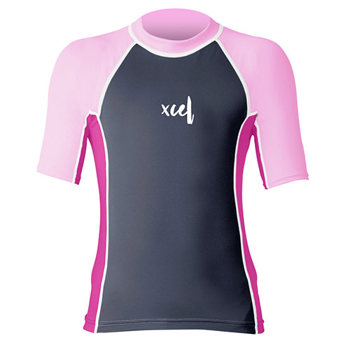 Lycra Enfant XCEL Girls Laguna Premium 6oz S/S SP18