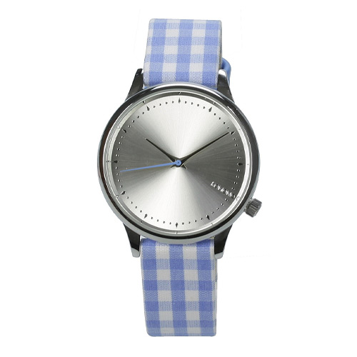 Montre KOMONO Estelle Vichy Blue