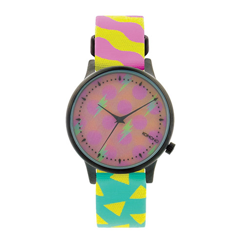 Montre KOMONO x HAPPY SOCKS Estelle Pop