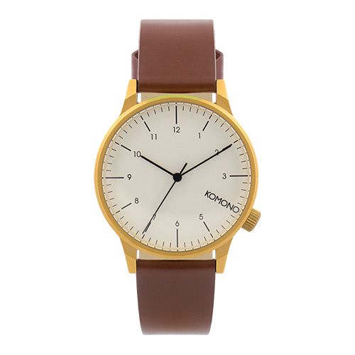 Montre KOMONO Winston Regal Chestnut