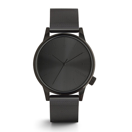 Montre KOMONO Winston Royale Black