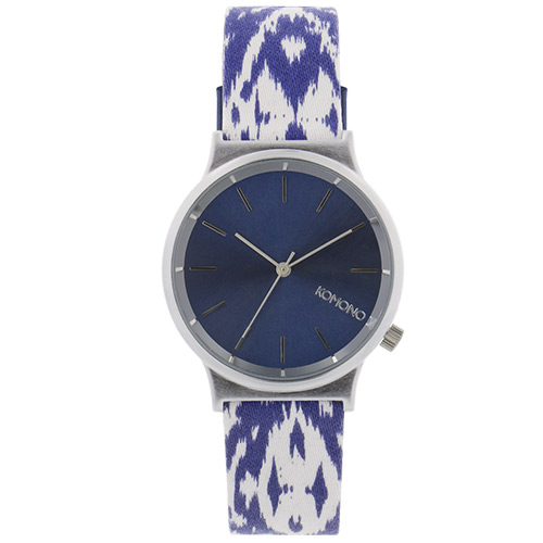 Montre KOMONO Wizard Print Series Batik Blues