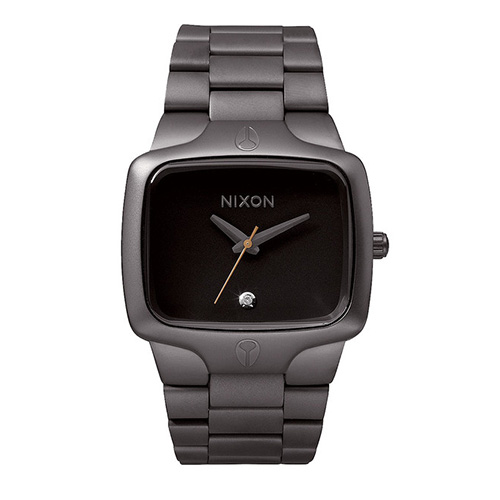 Montre NIXON Player All Gunmetal Black