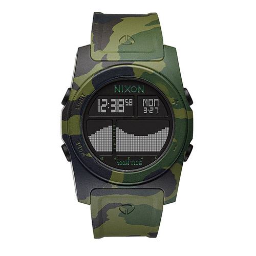 Montre NIXON Rhythm Green Camo