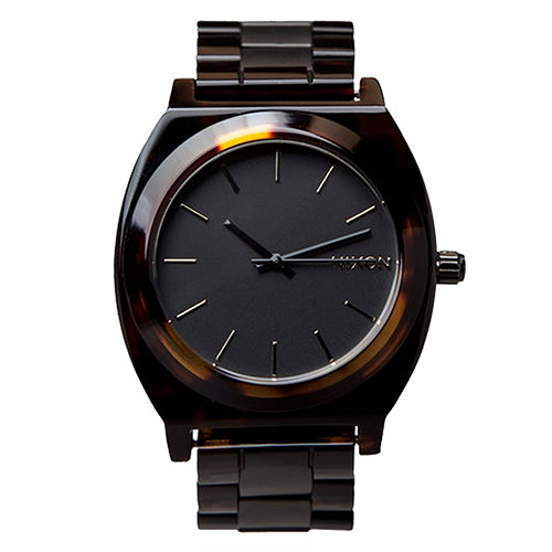 Montre NIXON Time Teller Acetate Matte Black Dark Tortoise