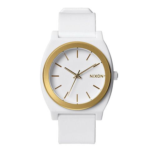 Montre NIXON Time Teller_P White Gold Ano