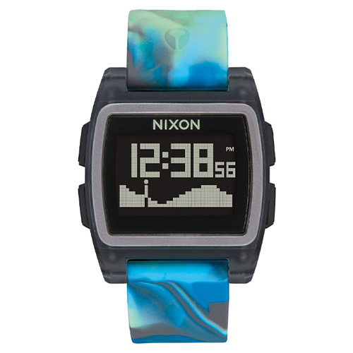 Montre NIXON Base Tide Blue Jellyfish