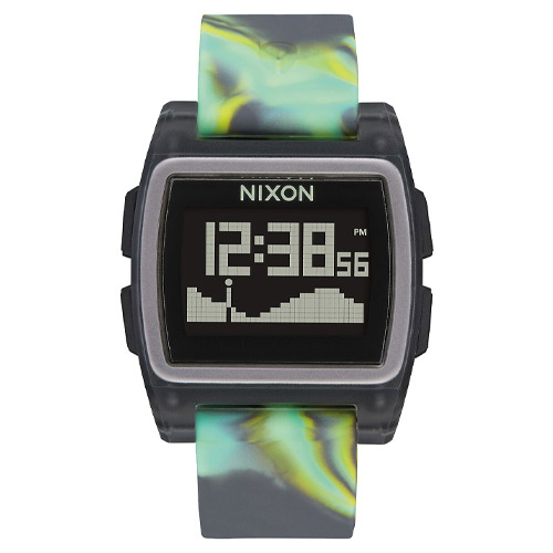 Montre NIXON Base Tide Green Jellyfish