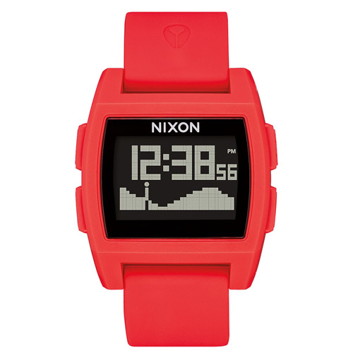 Montre NIXON Base Tide Red/Black