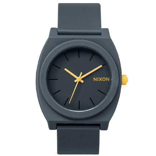 Montre Nixon Time Teller P Matte Steel Gray