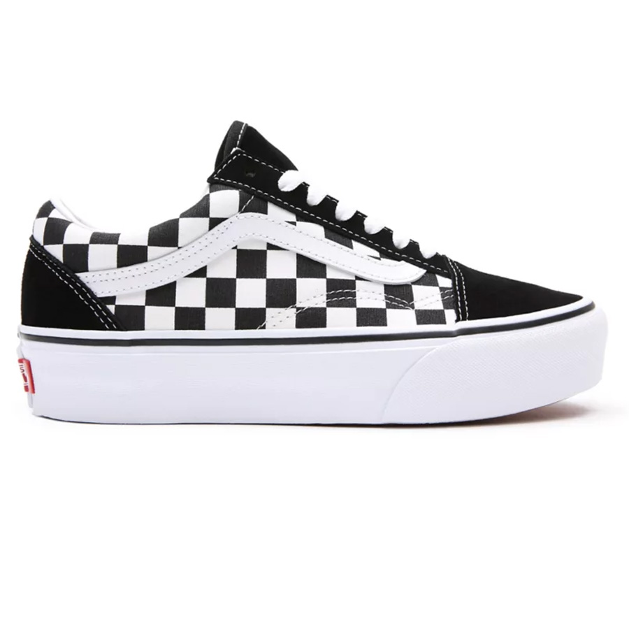 Chaussures VANS Checkerboard Old Skool Platform
