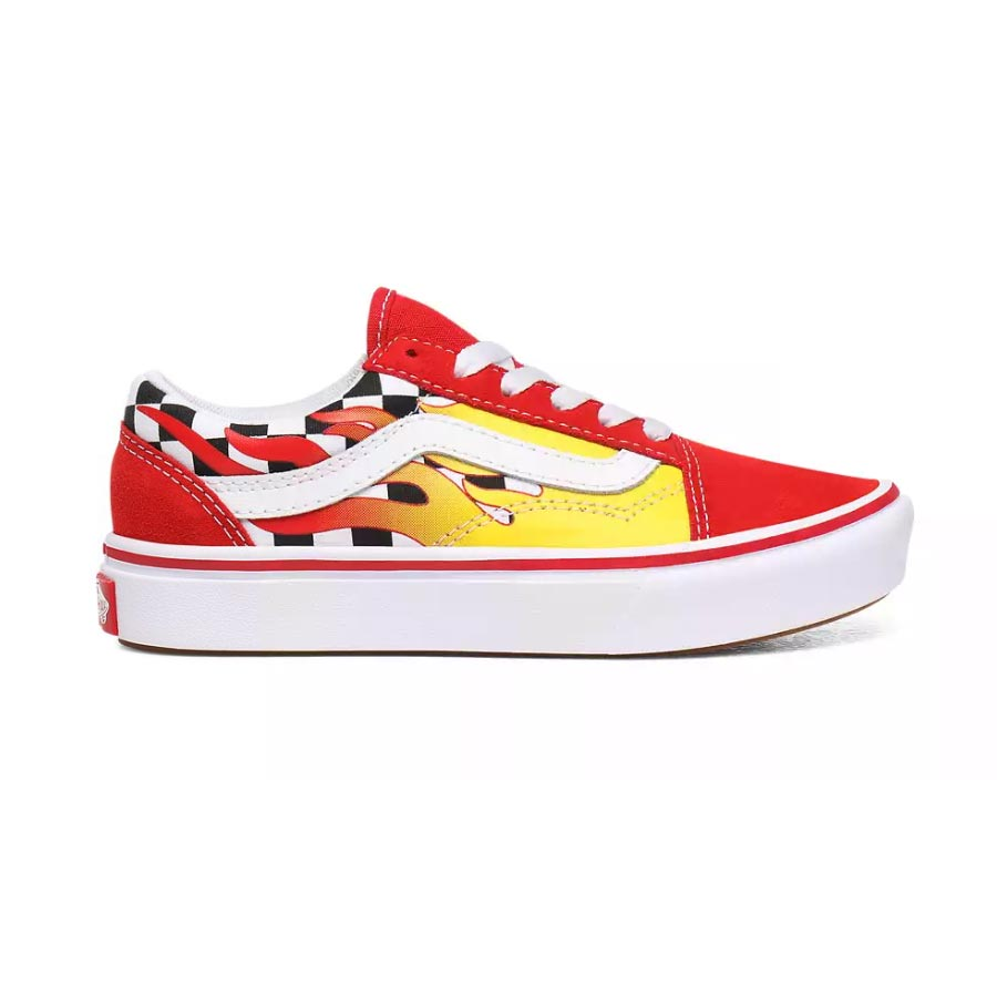 Chaussures VANS Enfant Old Skool Flame Comfycush