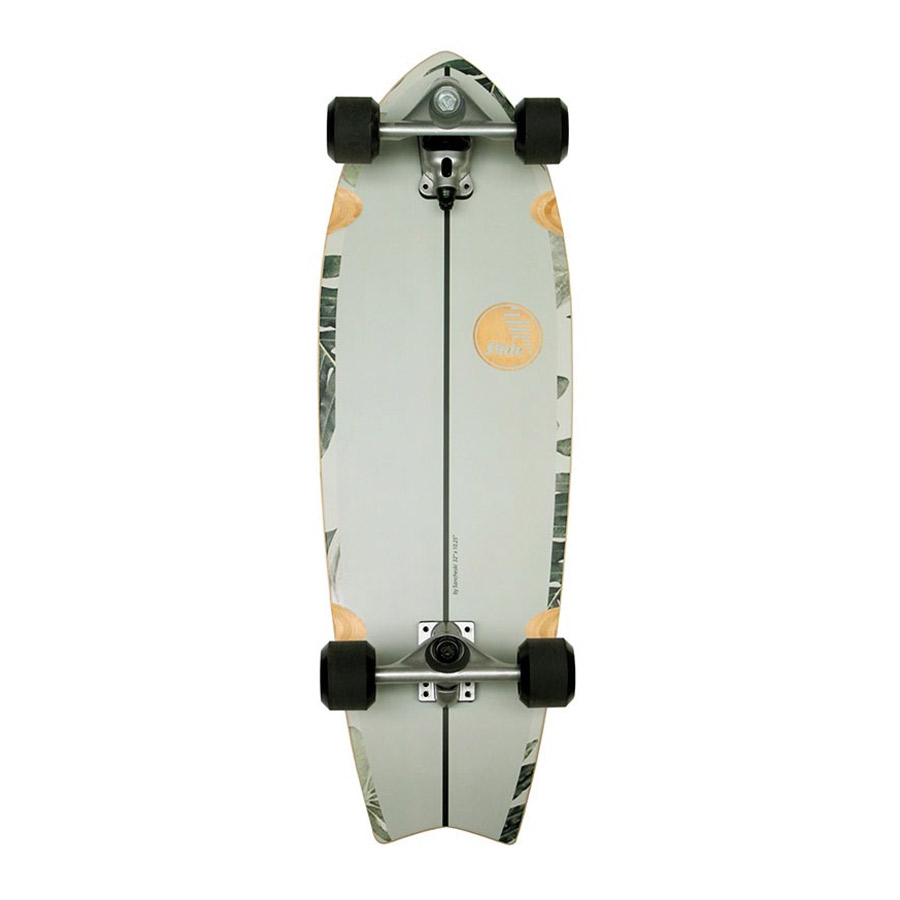 Surfskate SLIDE Fish Pavone 32""