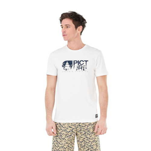 T-Shirt Homme PICTURE Basement Aravis White