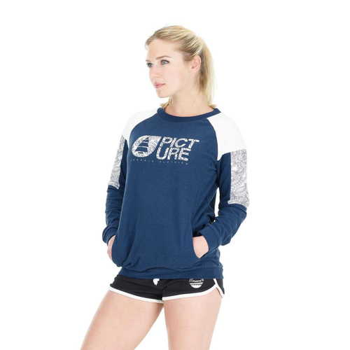 Sweat Femme PICTURE Blair Dark Blue