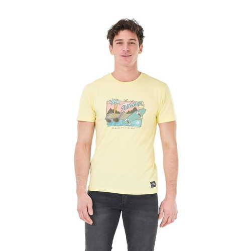 T-Shirt Homme PICTURE Cruiser Yellow