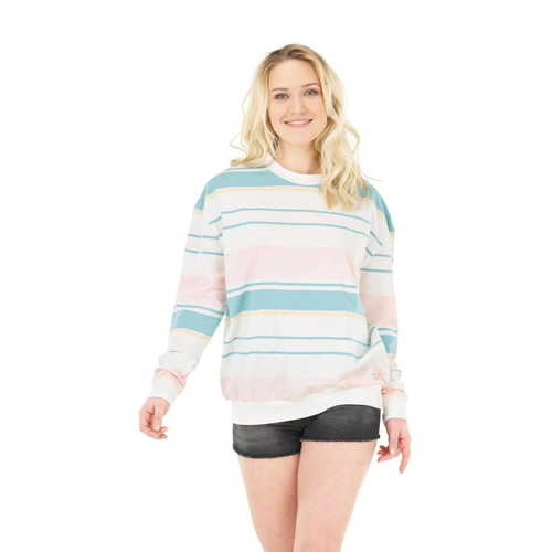 Sweat Femme PICTURE Heavenly  Pale Stripes