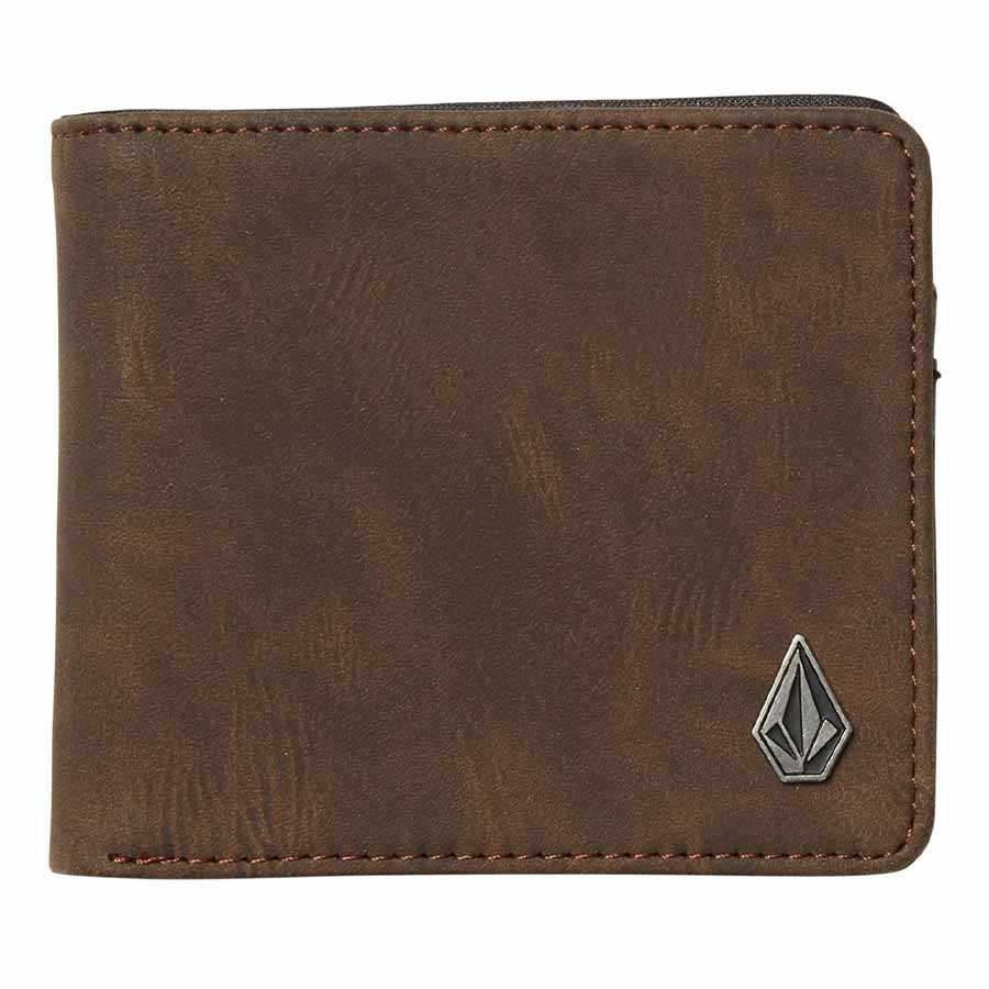 Portefeuille VOLCOM Slim Stone Brown