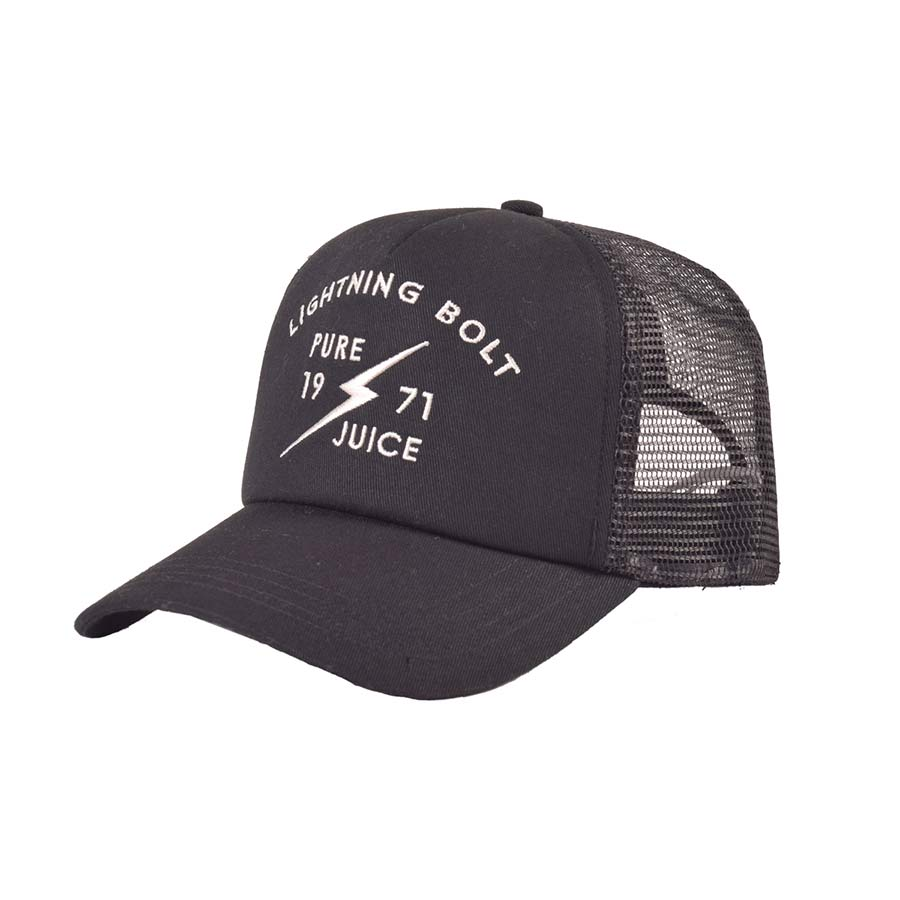 Casquette LIGHTNING BOLT Pure Juice Trucker Cap Black