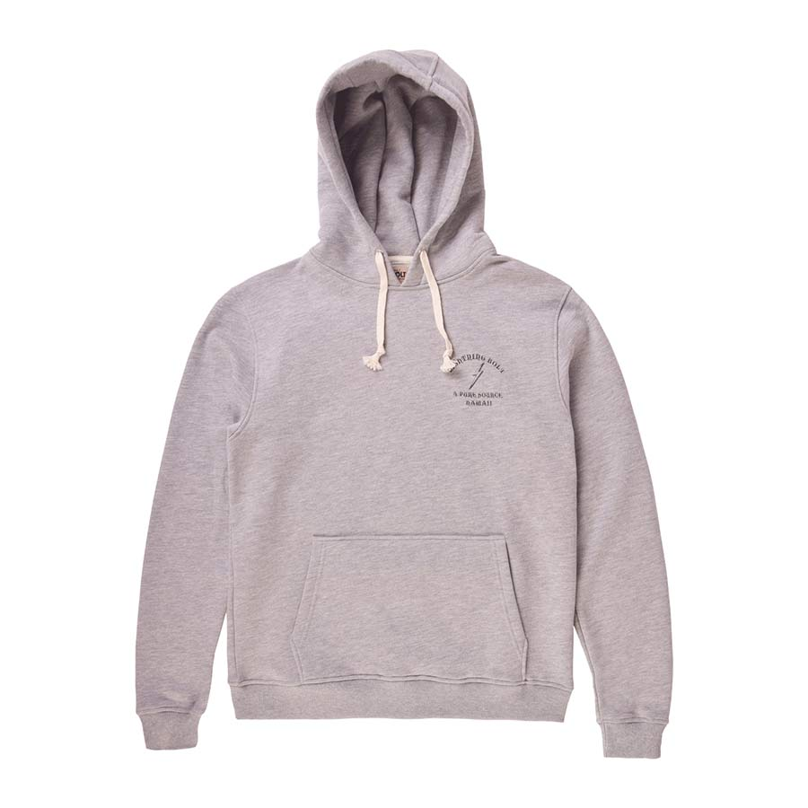 Sweat à capuche LIGHTING BOLT Pure Source Hawaii Fleece Heather