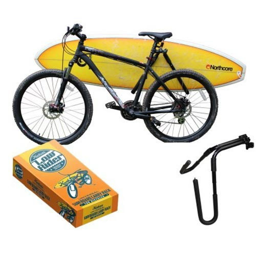 rack v lo northcore lowrider bike board carry rack surf. Black Bedroom Furniture Sets. Home Design Ideas
