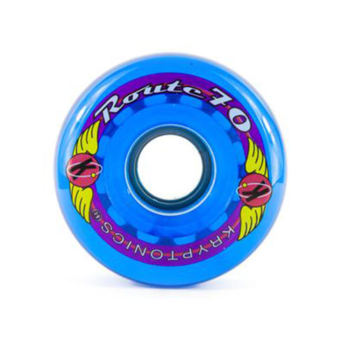 Roues skate KRYPTONICS 78A 70mm Route Wheel Blue