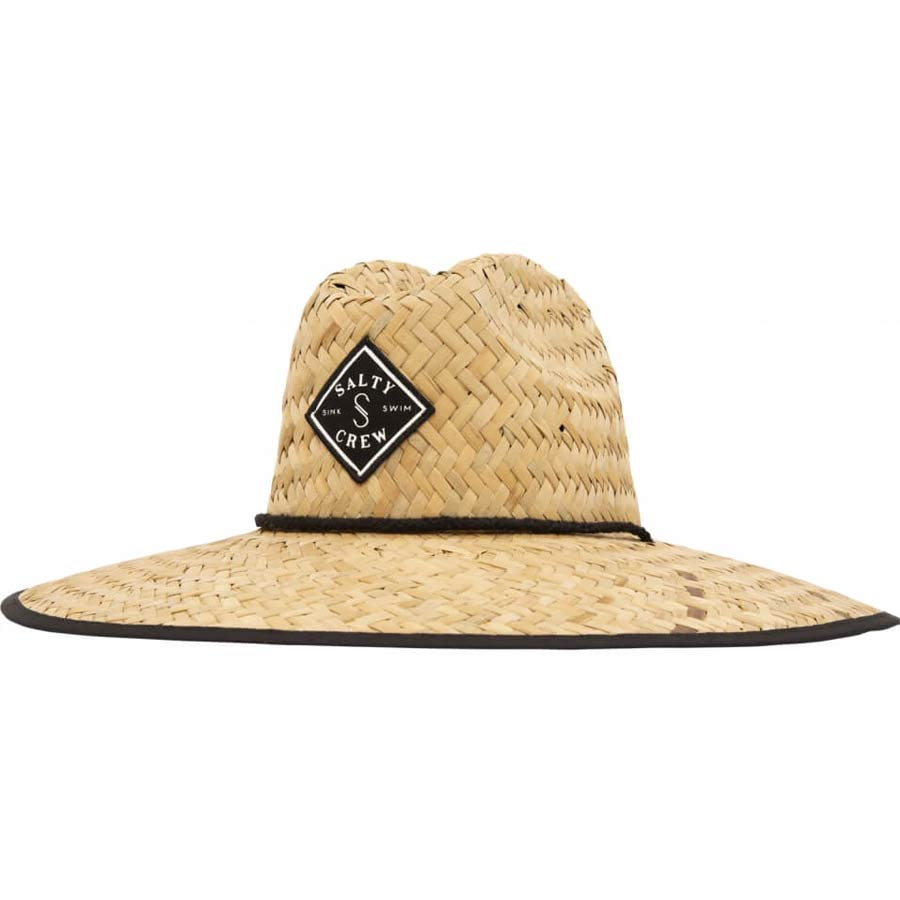 Chapeau de paille Salty Crew Tippet Cover Up Straw Hat Black Nat