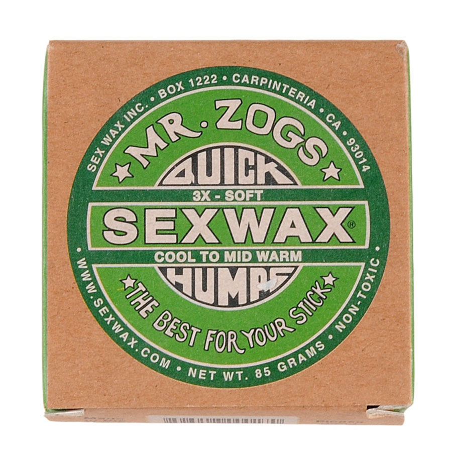 Wax SEX WAX Cool to Mid-Warm 14°C - 23°C