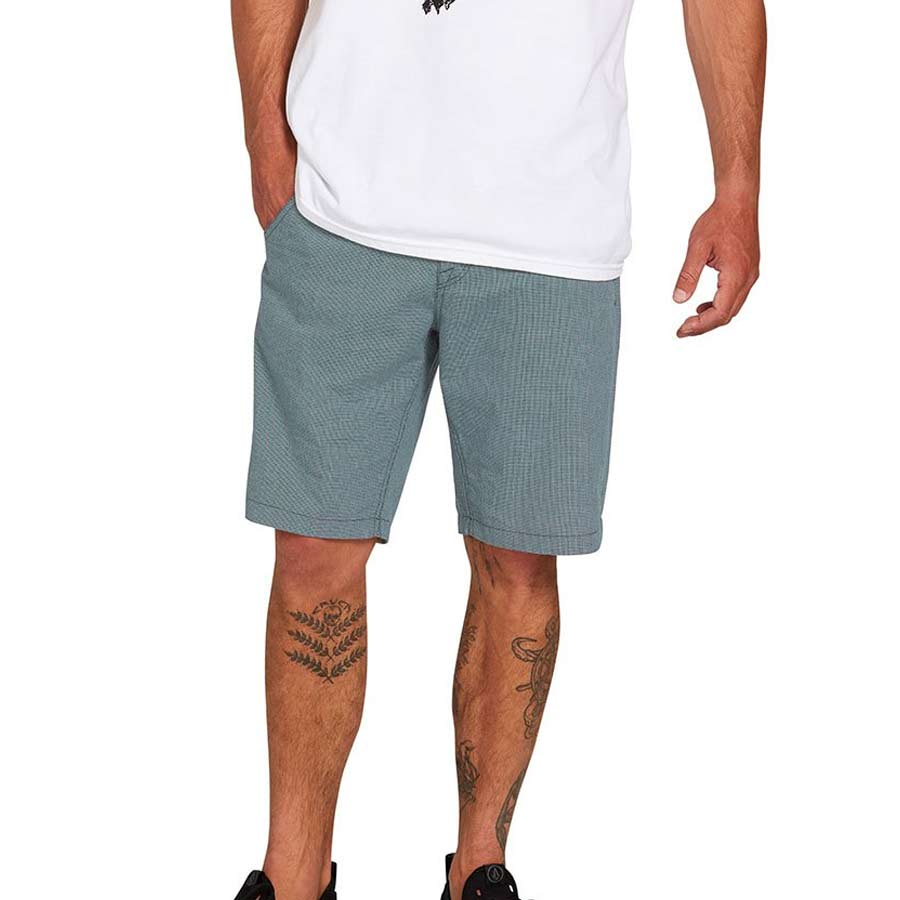 "Short Homme VOLCOM The Down Lo 20"" Hydro Blue"