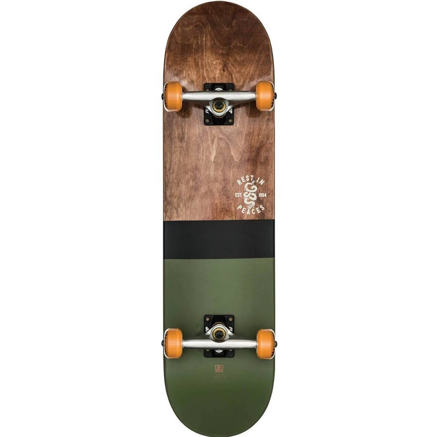 Skate Street GLOBE G2 Half Dip Dark Maple/Hunter Green 8""