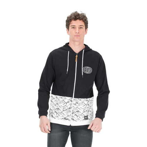 Sweat à capuche zippé PICTURE Peter Zip Hoodie Black