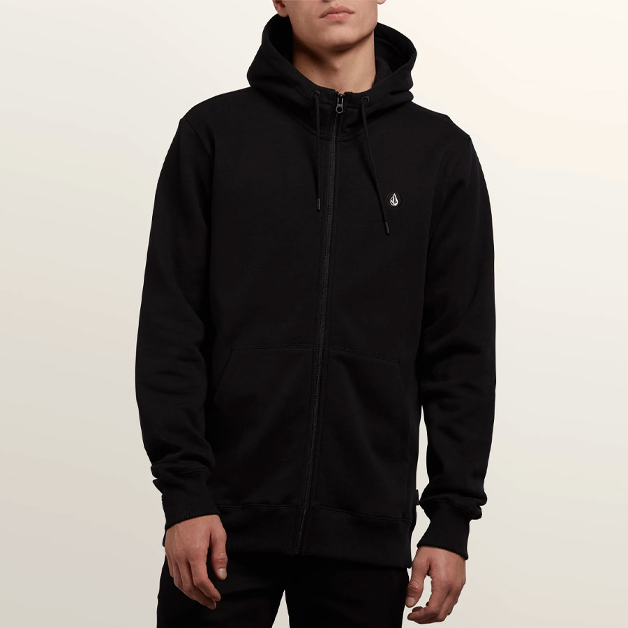 Sweat à Capuche VOLCOM Homme Single Stone Zip Black