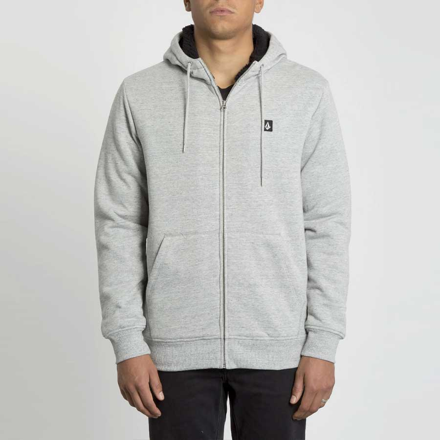 Sweat zippé VOLCOM Homme Single Stone Lined Storm