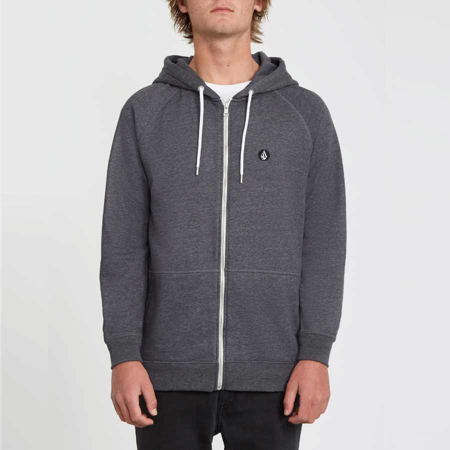 Sweat à capuche VOLCOM Timesoft Zip Black
