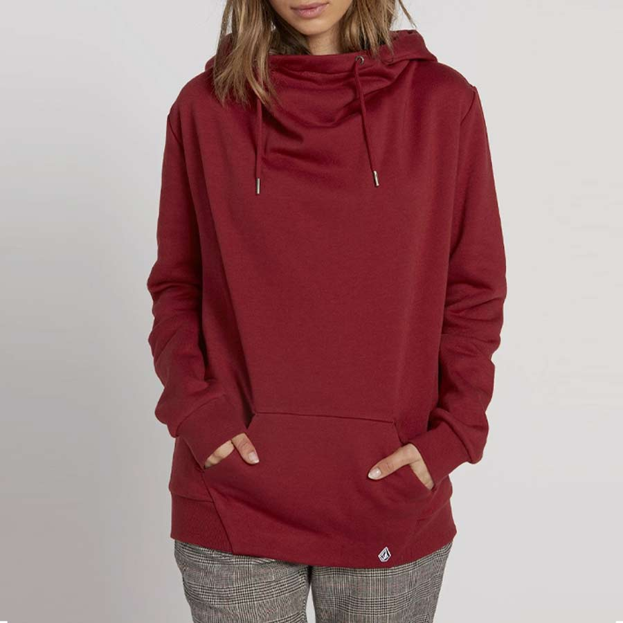 Sweat Femme VOLCOM Walk On By High Neck Auburn