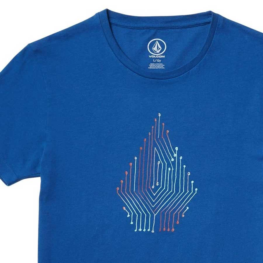 T-shirt Enfant VOLCOM Circuit Deep Water