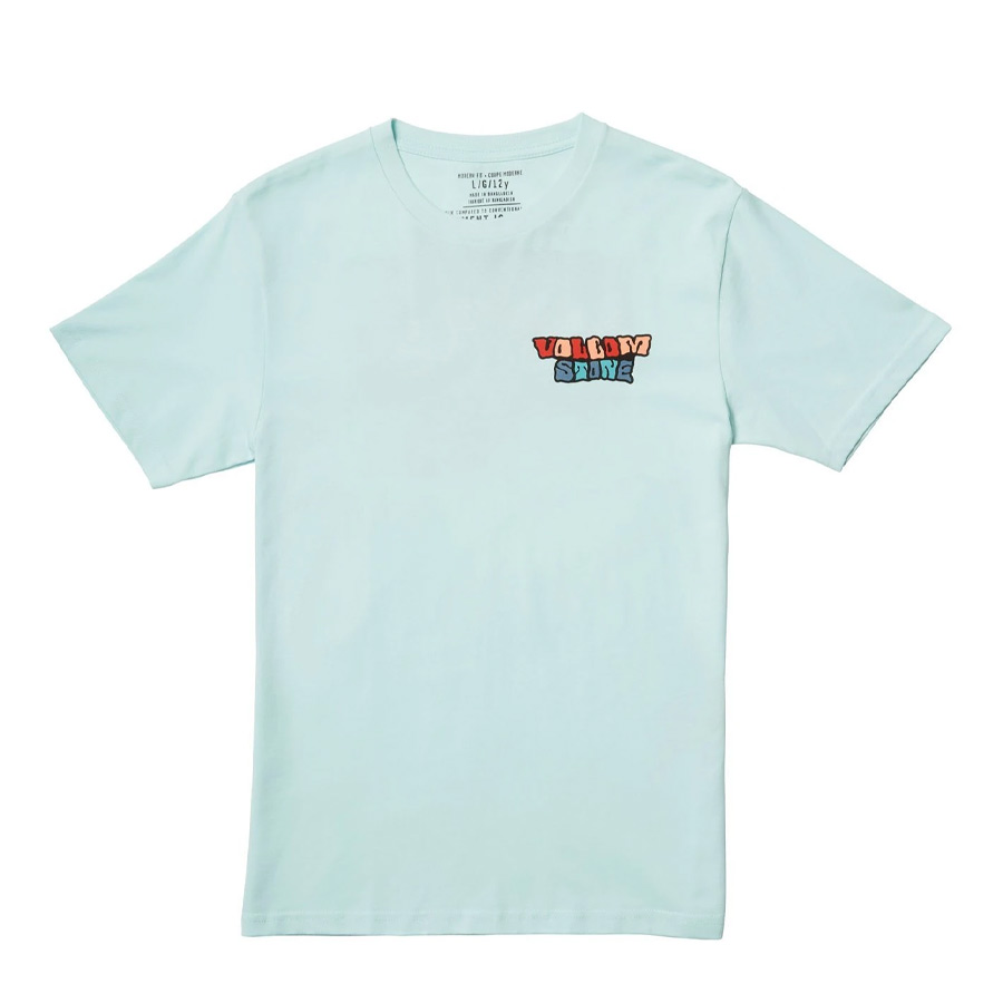 T-shirt Enfant VOLCOM Day Waves Resign Blue