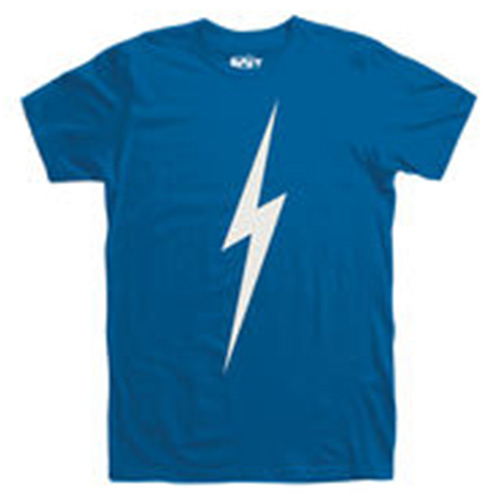 T-Shirt LIGHTNING BOLT Forever Insignia Blue