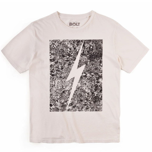 T-Shirt LIGHTNING BOLT Forever Water Egret