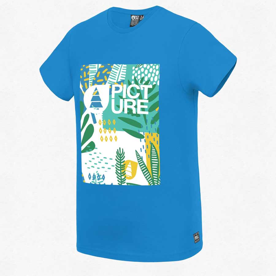 T-shirt PICTURE Homme Newart Blue