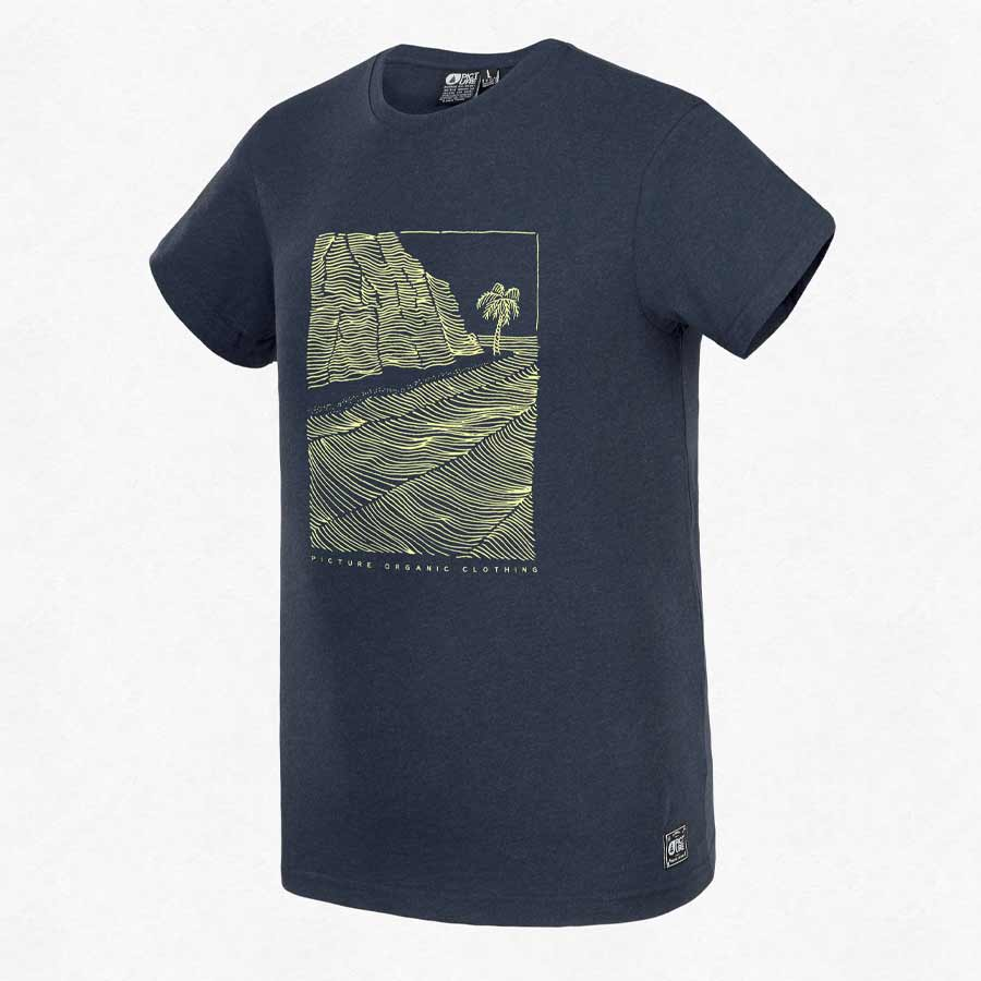 T-shirt PICTURE Homme Victor Dark Blue