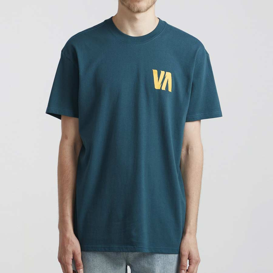 T-shirt RVCA Lizard Wizard Deep Sea