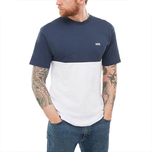 T-Shirt VANS Colorblock Dress Blues White