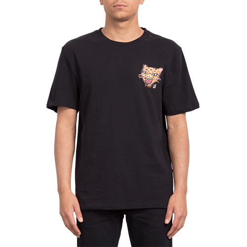 T-Shirt VOLCOM Ozzy Tiger BXY Black